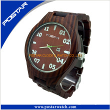 Quality Assurance Wood Watch Reloj casual para hombres y mujeres