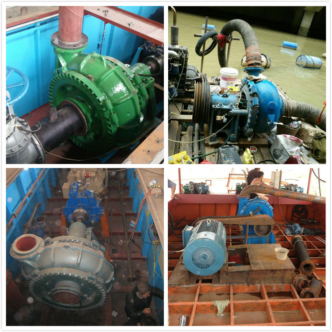 Long Pipeline Dredging Pumps