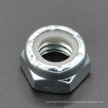 Écrou hexagonale à onglet hexagonale à fente (CZ396)