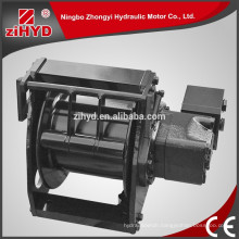 made in China hydraulic hydraulic winch with inner hydraulic control system