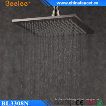 Bathroom Mist Fall Wall Hanger Water Spray Brushed Top Shower