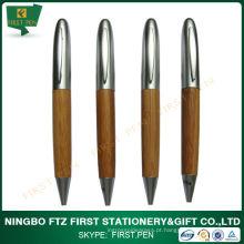 Caneta esferográfica promocional Bamboo