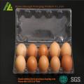 Cartons d'oeufs en plastique PVC / PET transparent clair