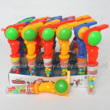 Doces de brinquedo apito de futebol (ql61104)