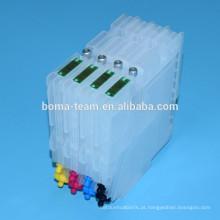 Tinta de sublimação GC21 para ricoh GX7000 GX3000 GX5000 GX2500 4 cores e cartucho de tinta recarregável com chip para ricoh GC21