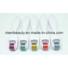 Factory Direct Großhandel Tianium Derma 600 Nadeln Micro Needle Roller mit veränderbaren Kopf