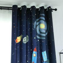 Art Hanging Textiles Home Cartoon Curtain