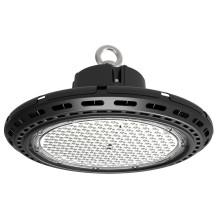 Lámpara de LED de alta potencia 200W UFO LED Alta Bahía de aluminio con luz con conductor Meanwell al aire libre