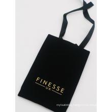 velvet bag with drawstring for mobile