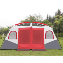 Two Bedroom Camping Rainproof 8-10-12 People Two Bedroom Tent