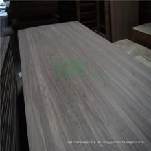 Log de noz preta americana para painel contínuo