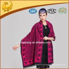 El nuevo diseño Venta al por mayor Jacquar varios colores Venta al por mayor chales de algodón