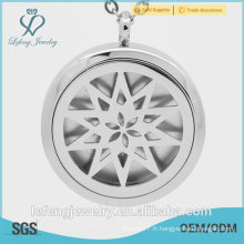 Elegant Glass window locket jewelry parfums populaires pour femmes