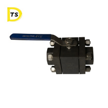Super Quality High Pressure Steel Carbon Wire Buckle Forging Ball Valve