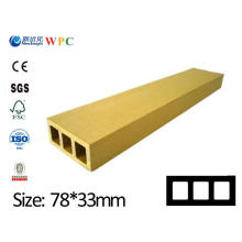 Placa de WPC da prancha da qualidade elevada WPC para a placa decorativa da prancha do jardim do feixe do Pergola com SGS CE Fsc ISO Lhma008