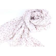 Printed pink Scarves/Scarf
