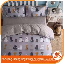 Tamanho customizável nova folha de cama de estilo desenhos com impressão animal