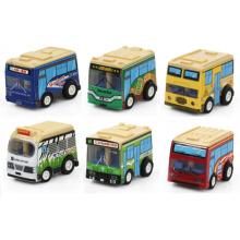 Mini coche de la promoción del regalo de juguete Cartoon Cars Mini Bus (2818)