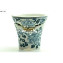 Blumen-Porzellan-Sieb