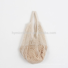 Großhandel recycelt große Lebensmittel Baumwolle Mesh-Tasche
