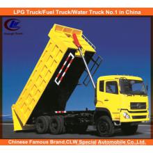 Dongfeng 30ton Front Tipping Camião Basculante 10 Rodas Dump Truck