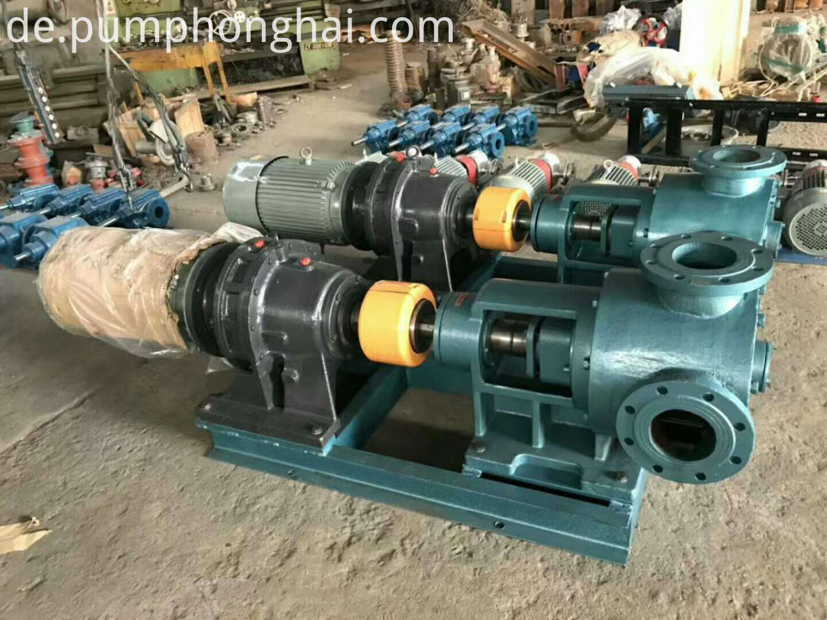 heat insulation bitumen pump