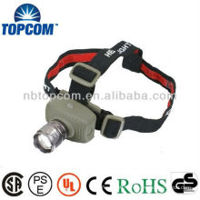 CREE LED Headlamp with zoom