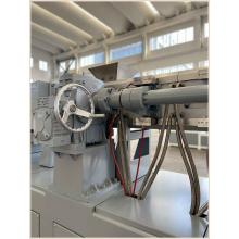 High Efficiency Conical Twin Screw Extruder for PVC Pipe Extrusion Line