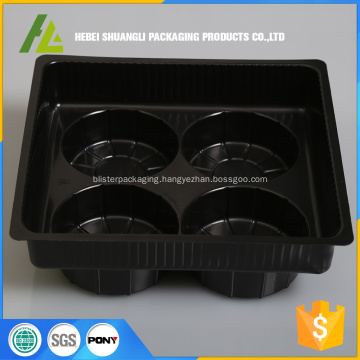 plastic tray for frozen steamed bun packaging