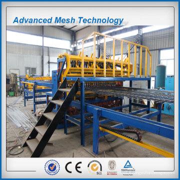 Machine automatique de soudure de barrière de treillis métallique de renforcement de tache