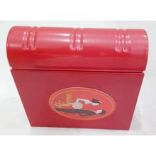 Red Wedding Tin Box