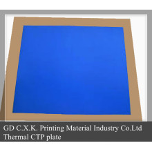 CTP Azul Sensible a Impresión Larga
