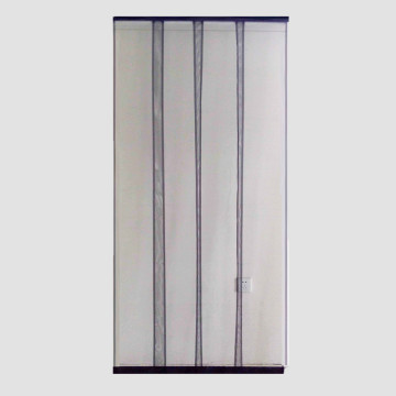 Lamella fly screen door curtain