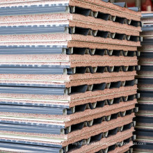 Fireproof Insulated Rock Wool High Efficiency Protection Sandwich Panel