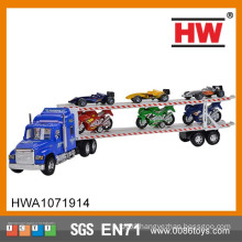 2016 new design plastic toy trailer truck toy