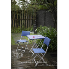 Hot sale Outdoor All Weather blue outdoor furniture