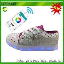 Novos Design APP Controle LED Sapatos