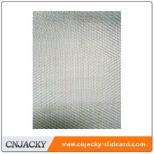 Laminated press pad for laminating plastic card