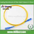 SC/UPC-SC/UPC Fiber Optical Patch Cord with Single Mode Simplex