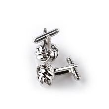 Fesyen Stainless Steel Twist Cufflinks