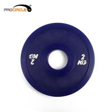 Procircle einstellbare Gewicht Fitness Bumper Platten
