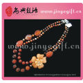 Nouveau ensemble de bijoux bon marché à la main de zircon de topaze de pierres précieuses