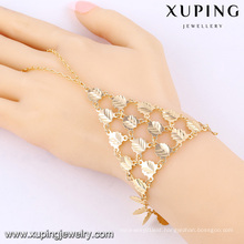 73862 Xuping Unique Design Long Chain Hand Bracelets With Good Quality
