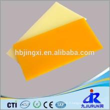 Feuille en plastique d'unité centrale, feuille d'unité centrale de polyuréthane, feuille d'unité centrale d'ingénierie
