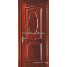 Luxury Red Oak Veneered interior swinging shutter MDF doors