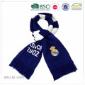 Real Madrid stickad fotboll Fan halsduk