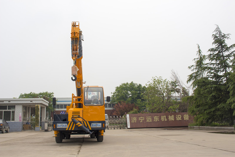 3-12tons homemade crane