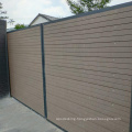 exterior wpc door wood plastic composite  gate for outside wpc garden gate
