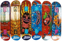 Nhựa gỗ Skateboard nhiệt chuyển in phim