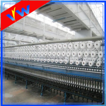 Optical white polyester sewing thread for garment
